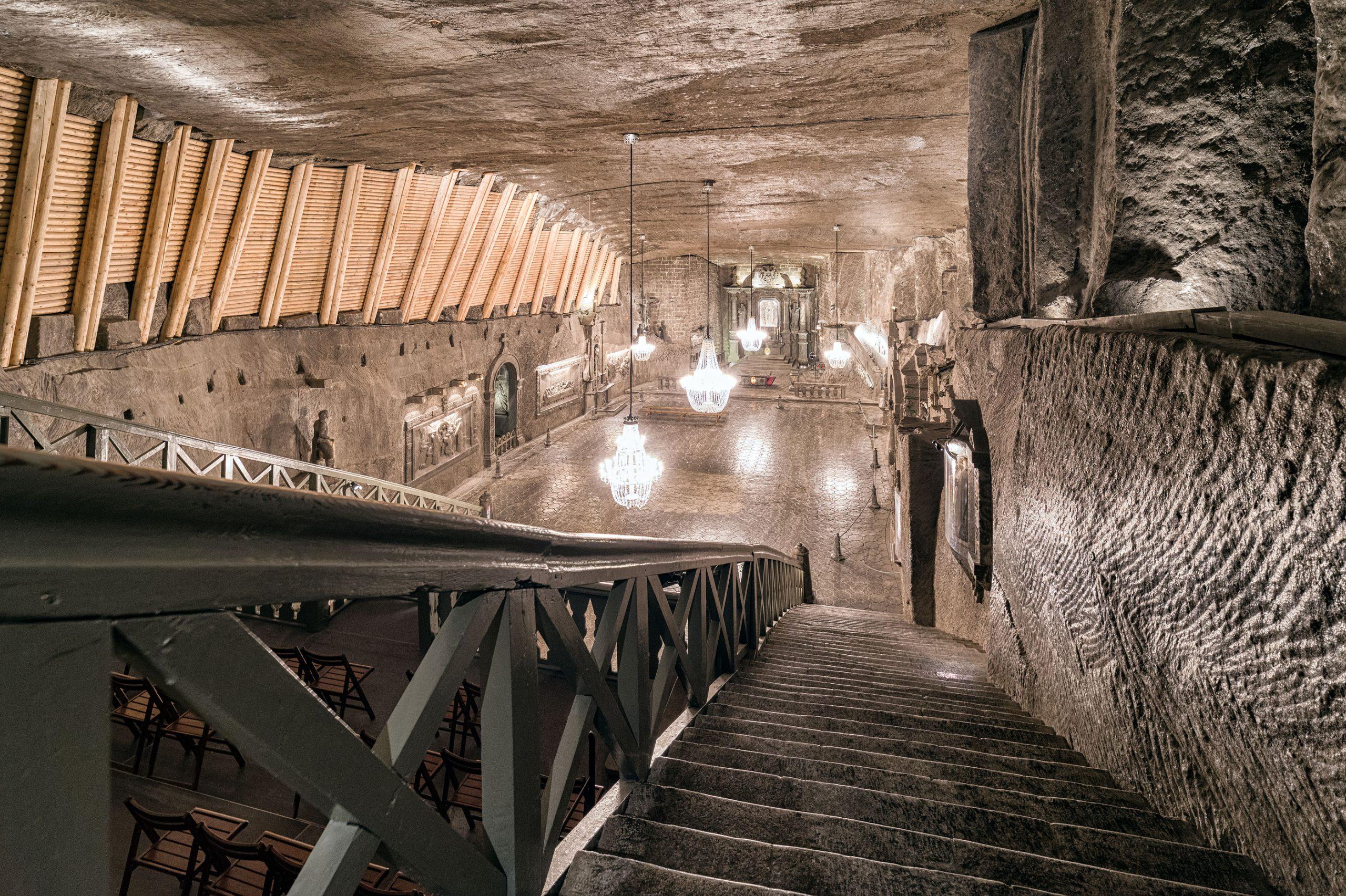 Saltgruver Krakow hovedrom