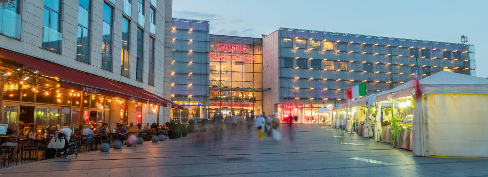 Galeria Krakowska Polen Krakow kjøpesenter