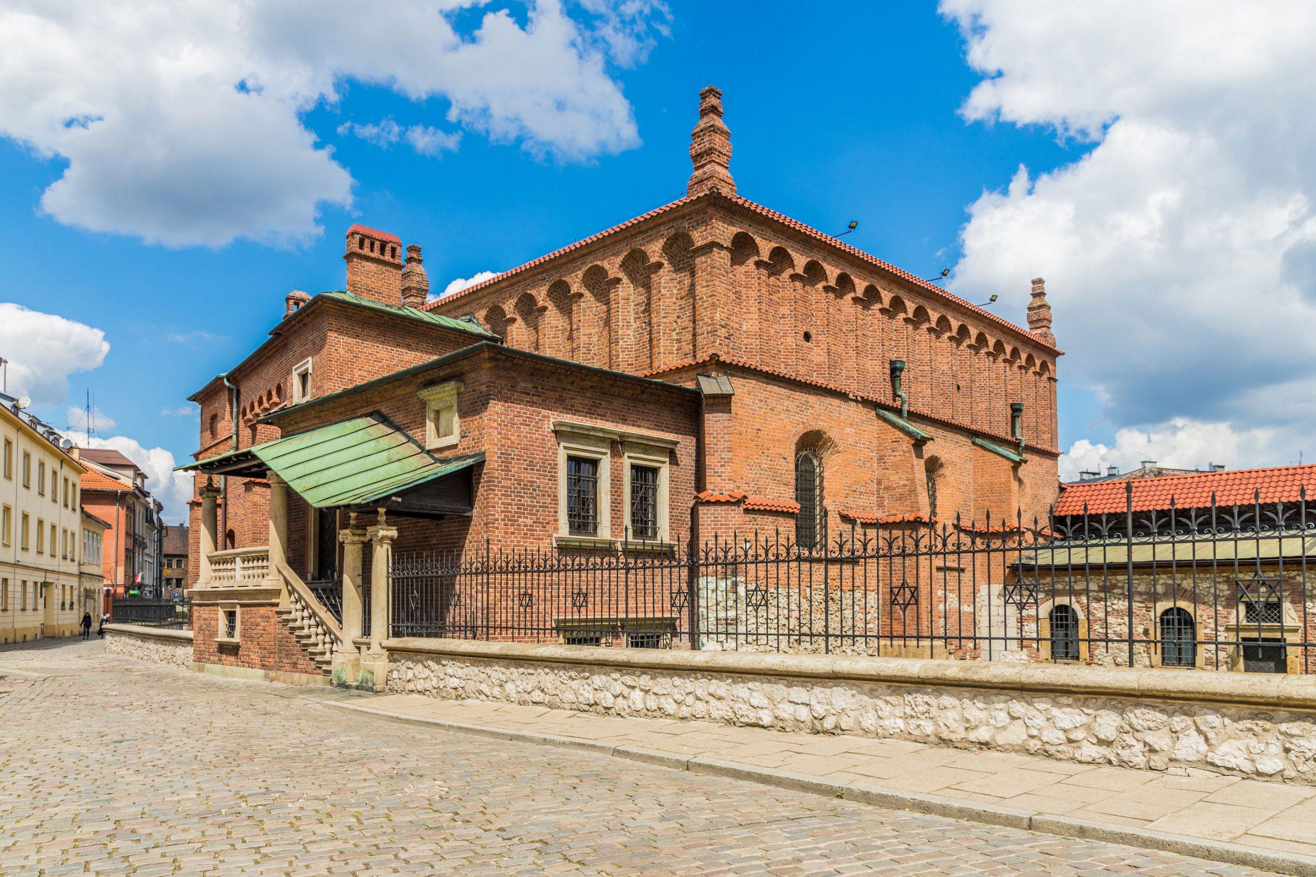 Den Gamle Synagoge Krakow Polen