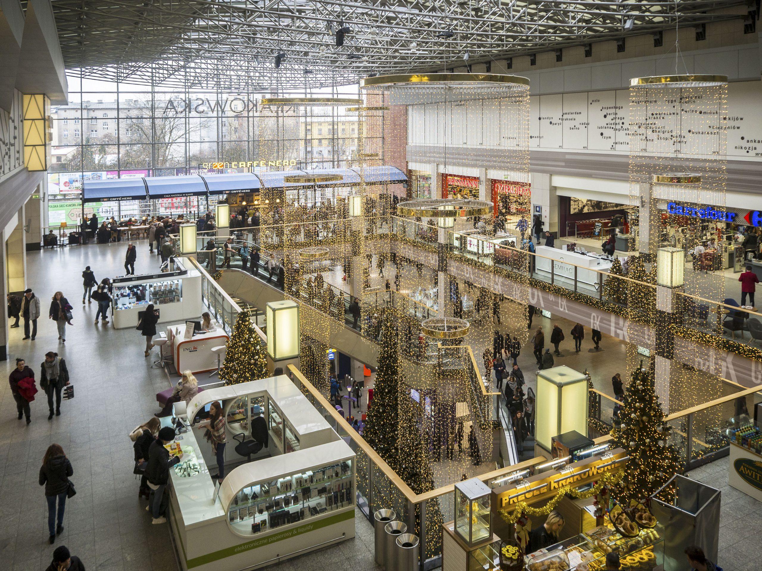 Galeria Krakowska kjøpesenter jentetur shopping