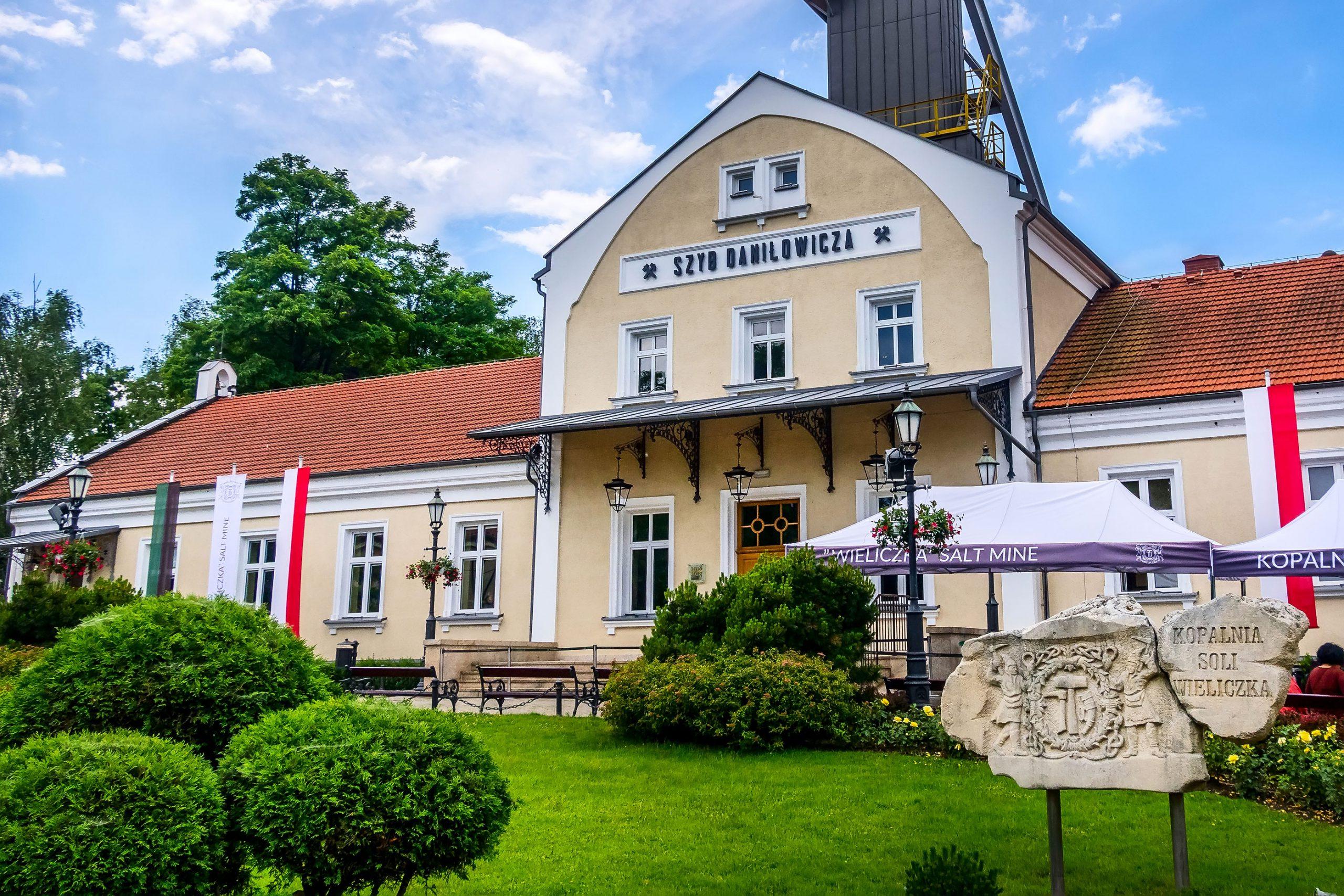 Wieliczka saltgruver Krakow