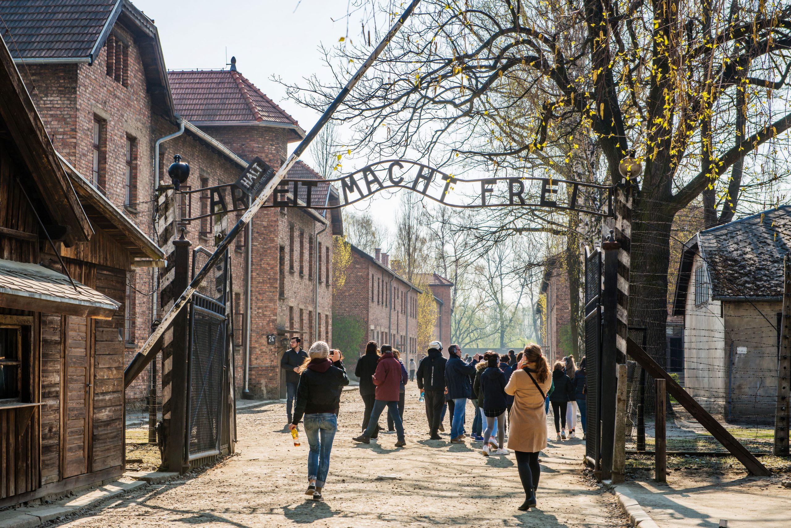 Birkenau Auschwitz guidet tur