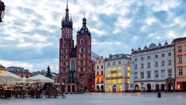 mariakirken krakow Polen St Mary basilika