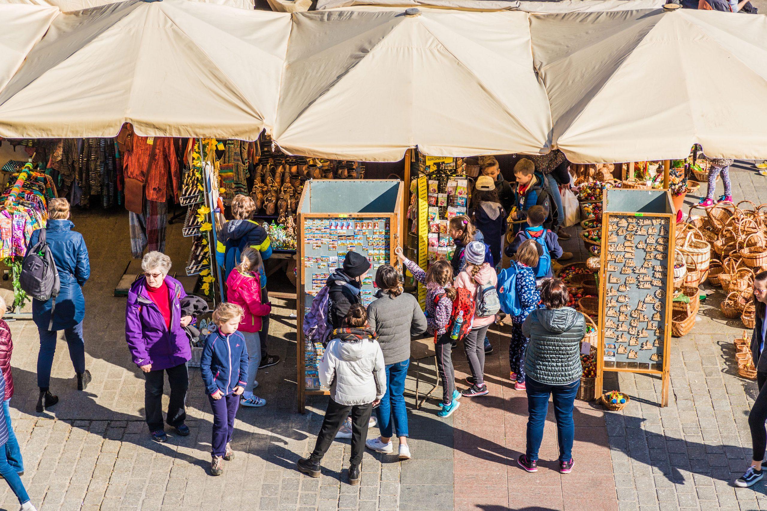 Marked Krakow shopping tips