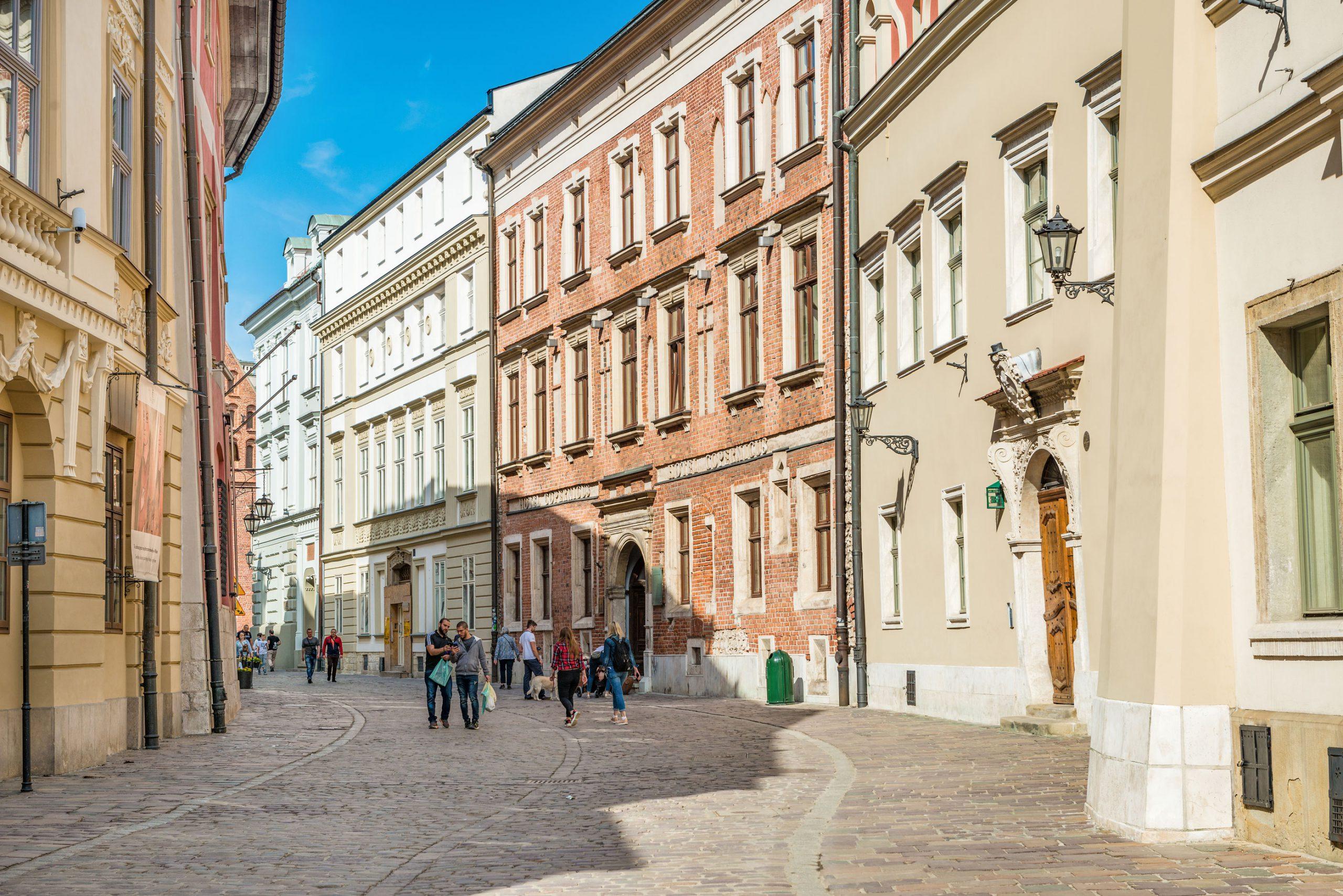 Krakow gamlebyen gater