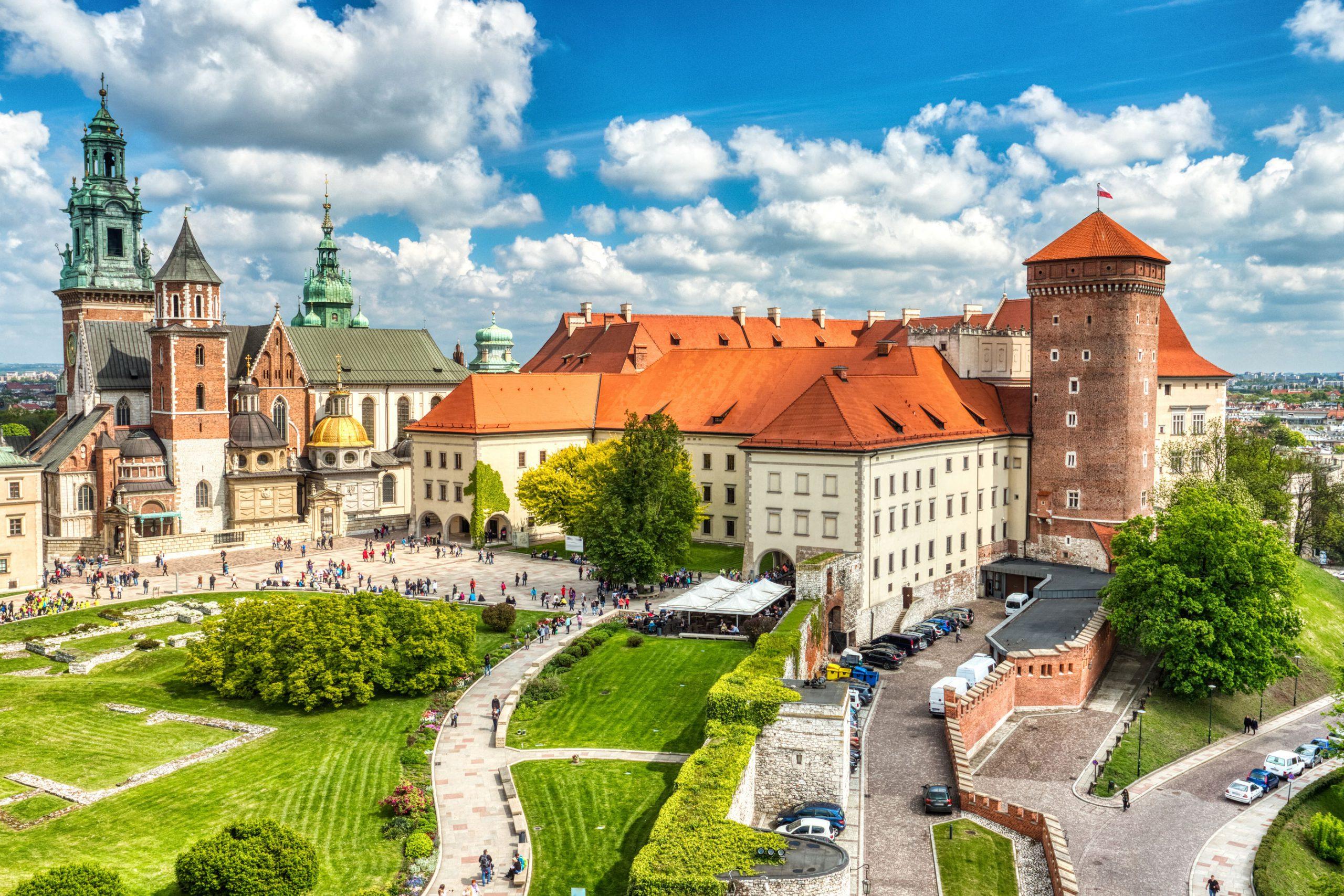 Wawel slottet Krakow