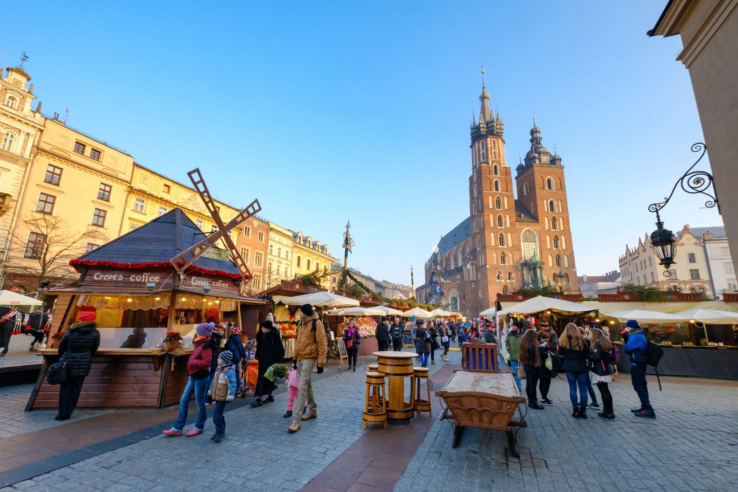 Julemarked Krakow Rynek Glowny